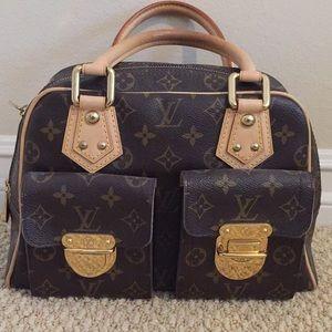 Louis Vuitton Monogram Manhattan PM Handbag